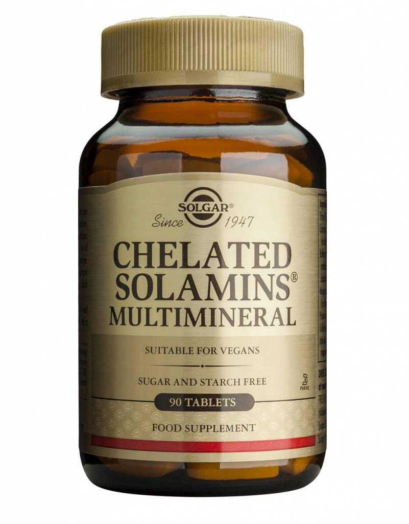 Chelated Solamins® Multimineral 180 tabletten-1