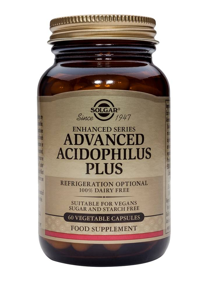Advanced Acidophilus Plus 60 plantaardige capsules-1