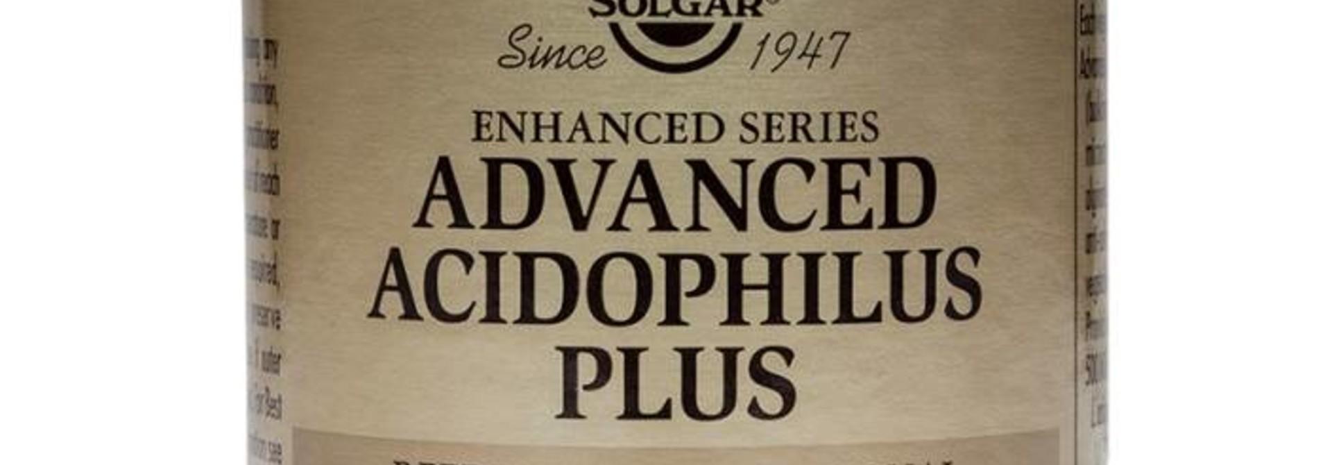 Advanced Acidophilus Plus 120 plantaardige capsules