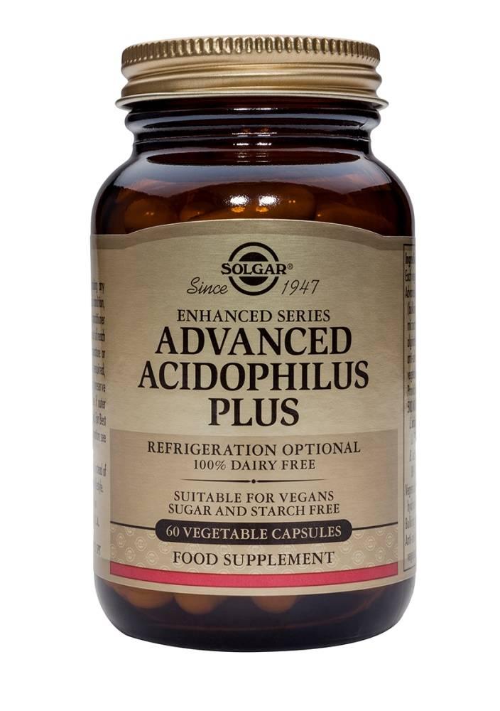 Advanced Acidophilus Plus 120 plantaardige capsules-1