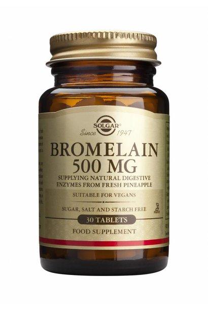 Bromelain 500 mg 30 tabletten