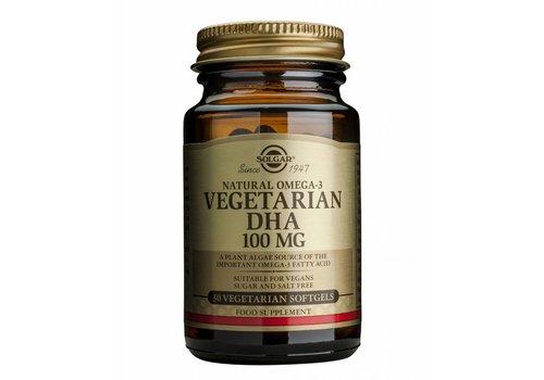 Solgar Vegetarian DHA 100 mg 30 vegigels