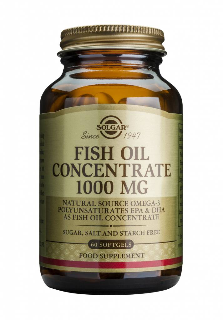 Fish Oil Concentrate 1000 mg 60 softgels-1