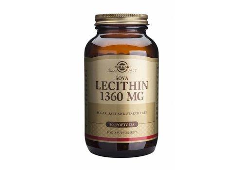 Solgar Lecithin 1360 mg 100 softgels