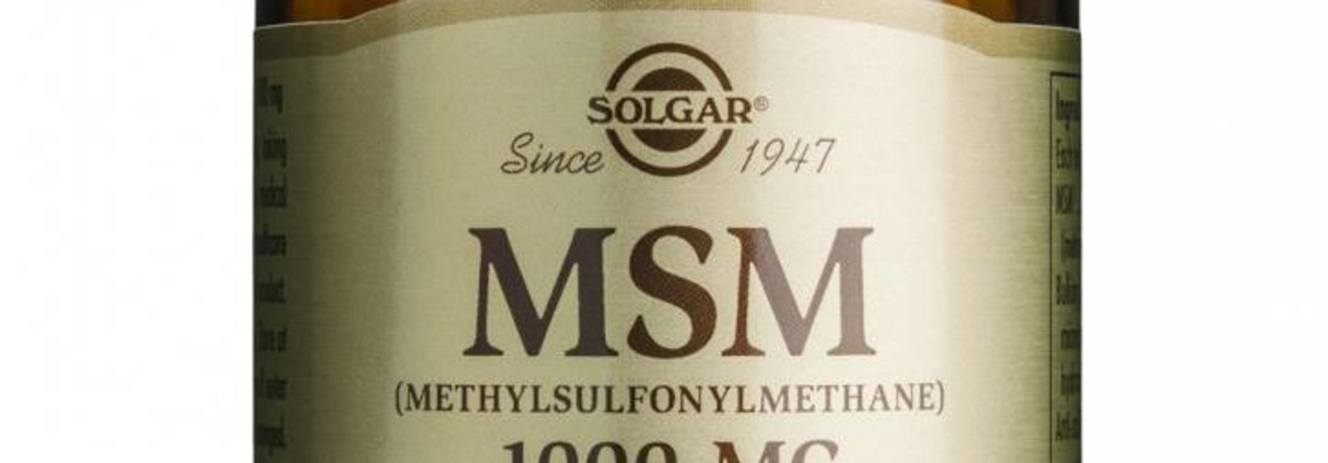 MSM 1000 mg 120 tabletten