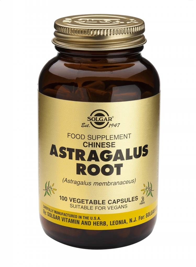 Astragalus Root 100 plantaardige capsules-1