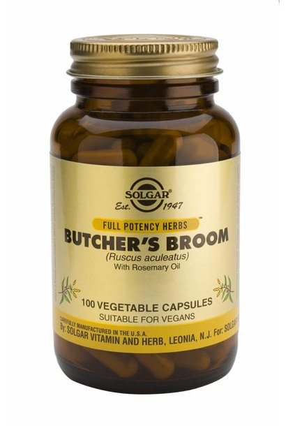 Butcher's Broom 100 plantaardige capsules