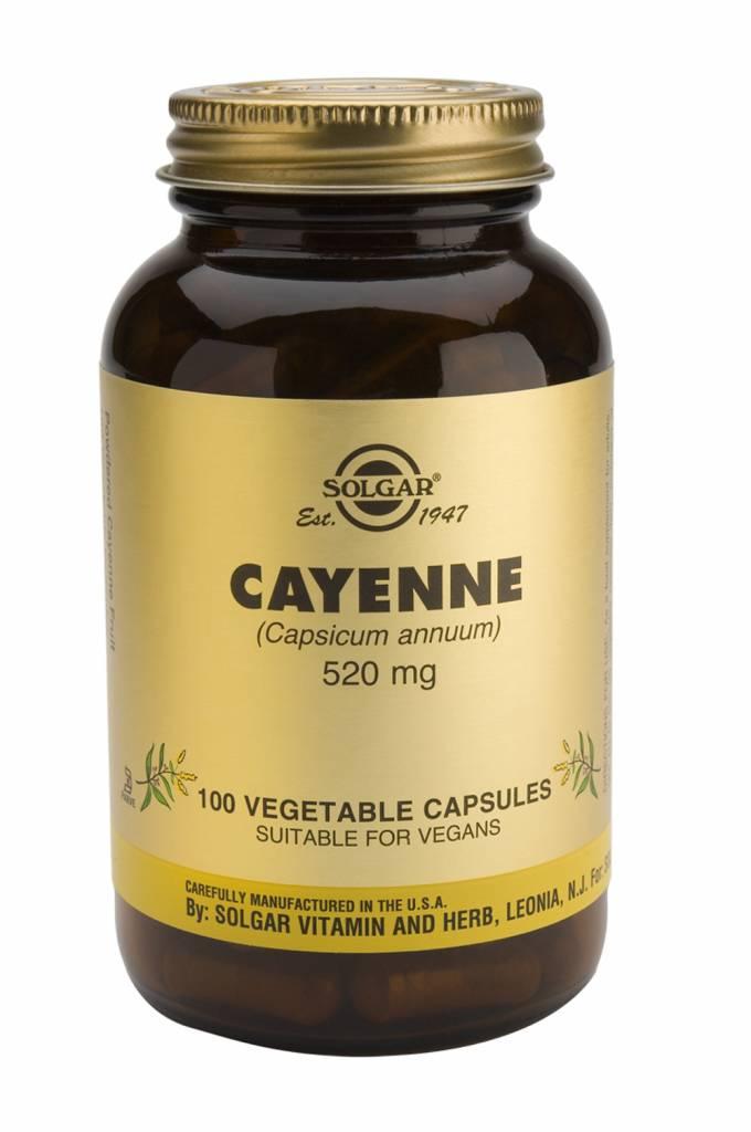 Cayenne 100 plantaardige capsules-1