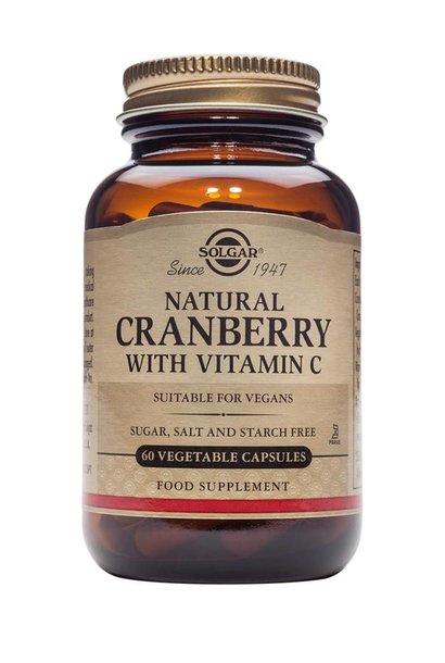 Cranberry with Vitamin C 60 plantaardige capsules