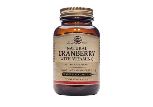 Solgar Cranberry with Vitamin C 60 plantaardige capsules