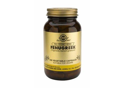 Solgar Fenugreek 100 plantaardige capsules