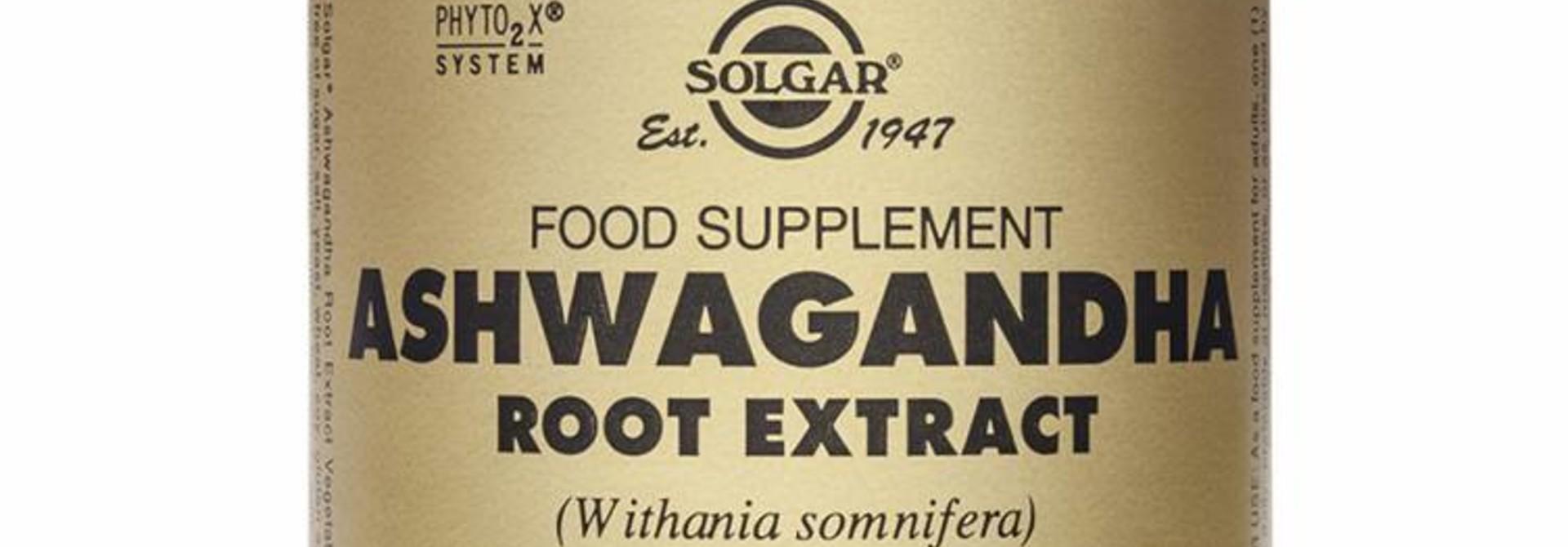 Ashwagandha Root Extract 60 plantaardige capsules