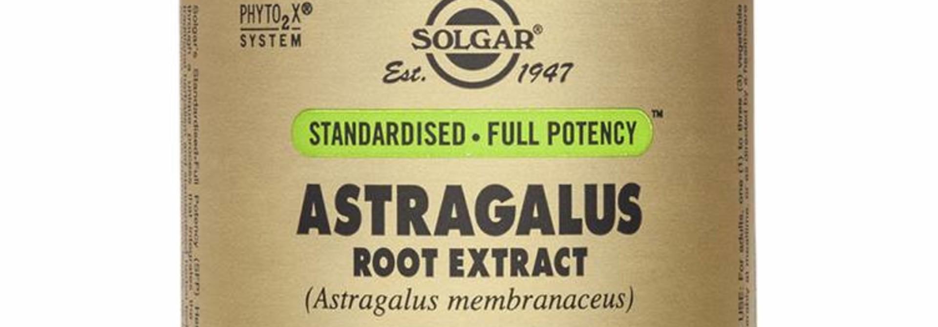 Astragalus Root Extract 60 plantaardige capsules
