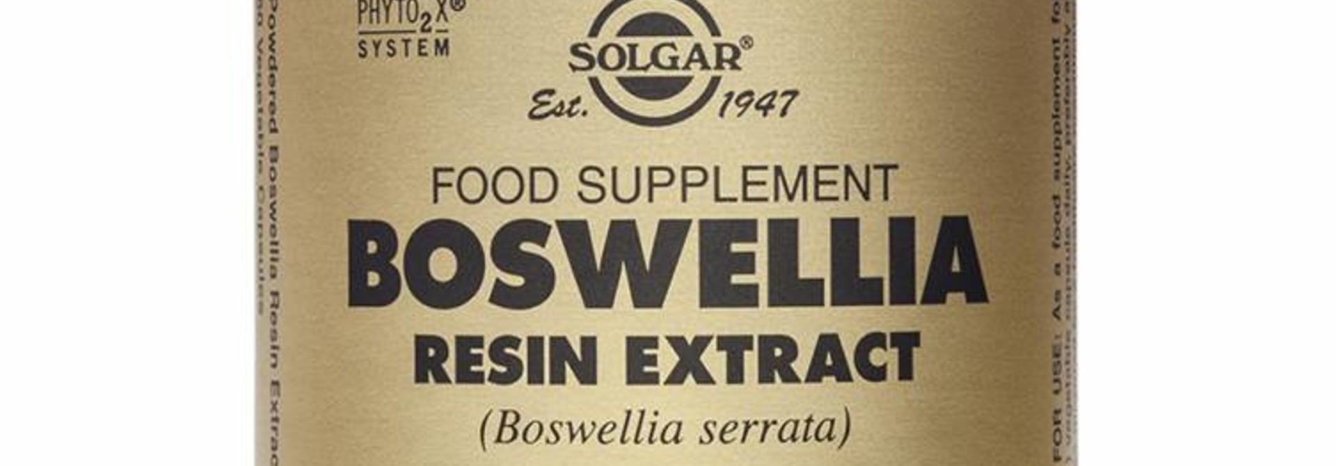 Boswellia Resin Extract 60 plantaardige capsules