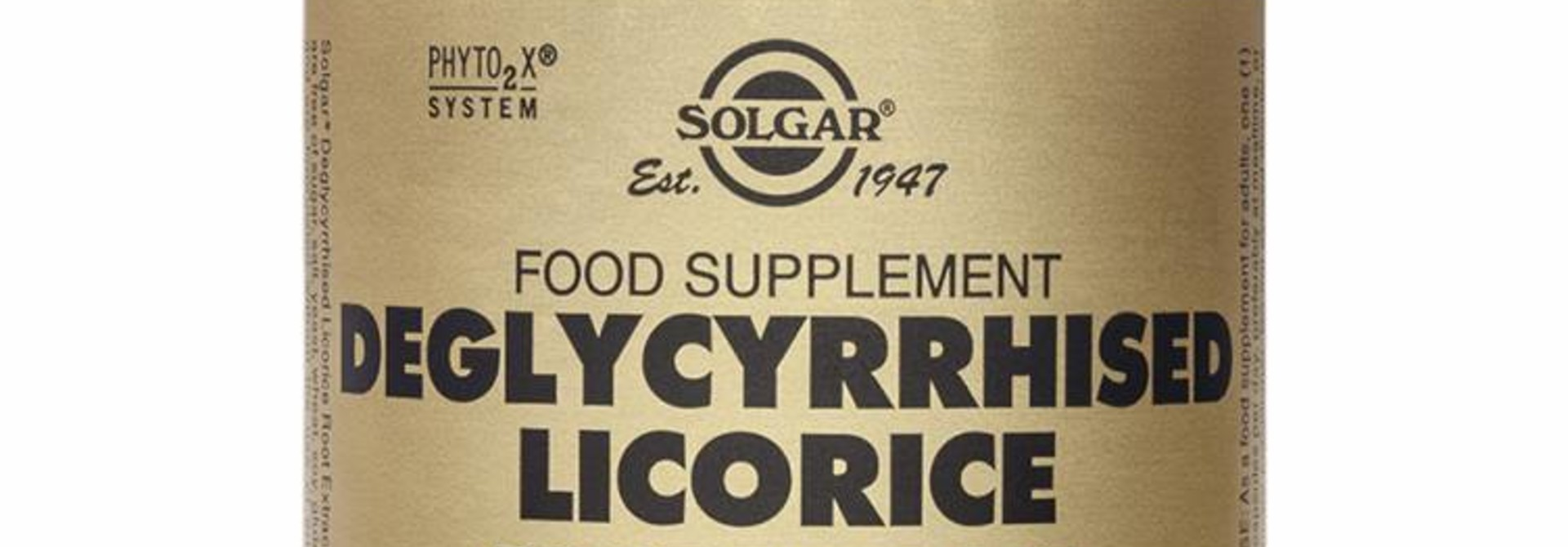 Deglycyrrhised Licorice Root Extract 60 plantaardige capsules