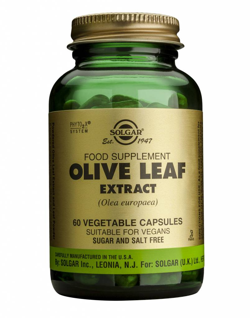 Olive Leaf Extract 60 plantaardige capsules-1