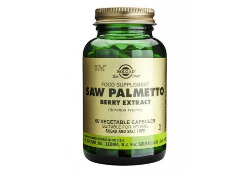 Solgar Saw Palmetto Berry Extract 60 plantaardige capsules