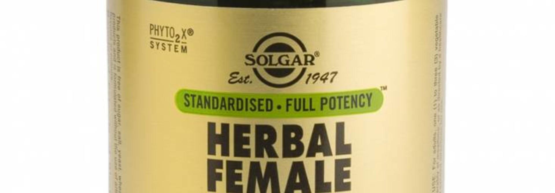 Herbal Female Complex 50 plantaardige capsules