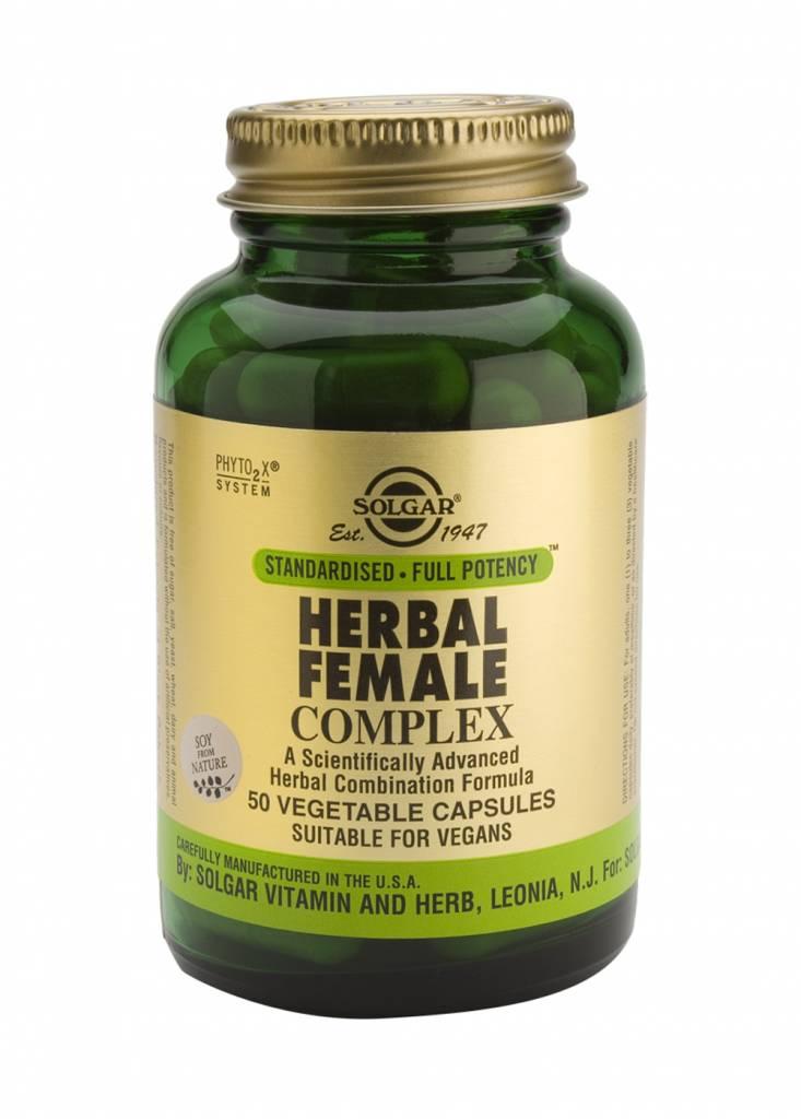 Herbal Female Complex 50 plantaardige capsules-1