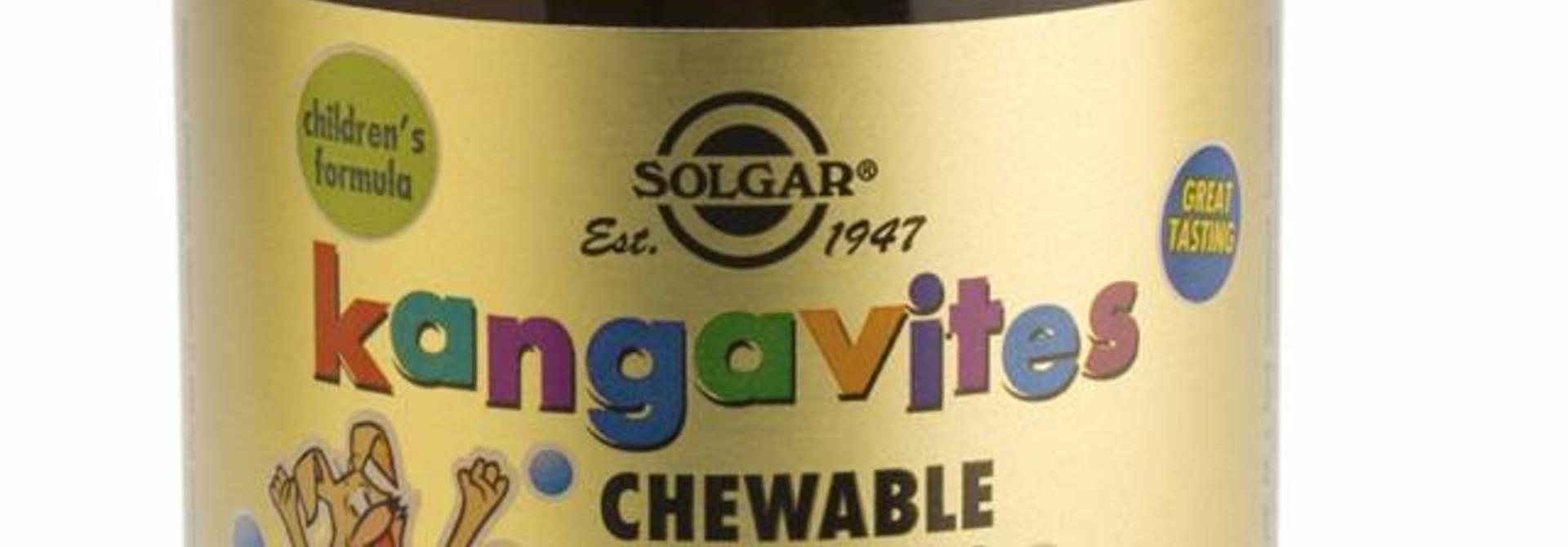 Kangavites Chewable Vitamin C 100 mg 90 kauwtabletten