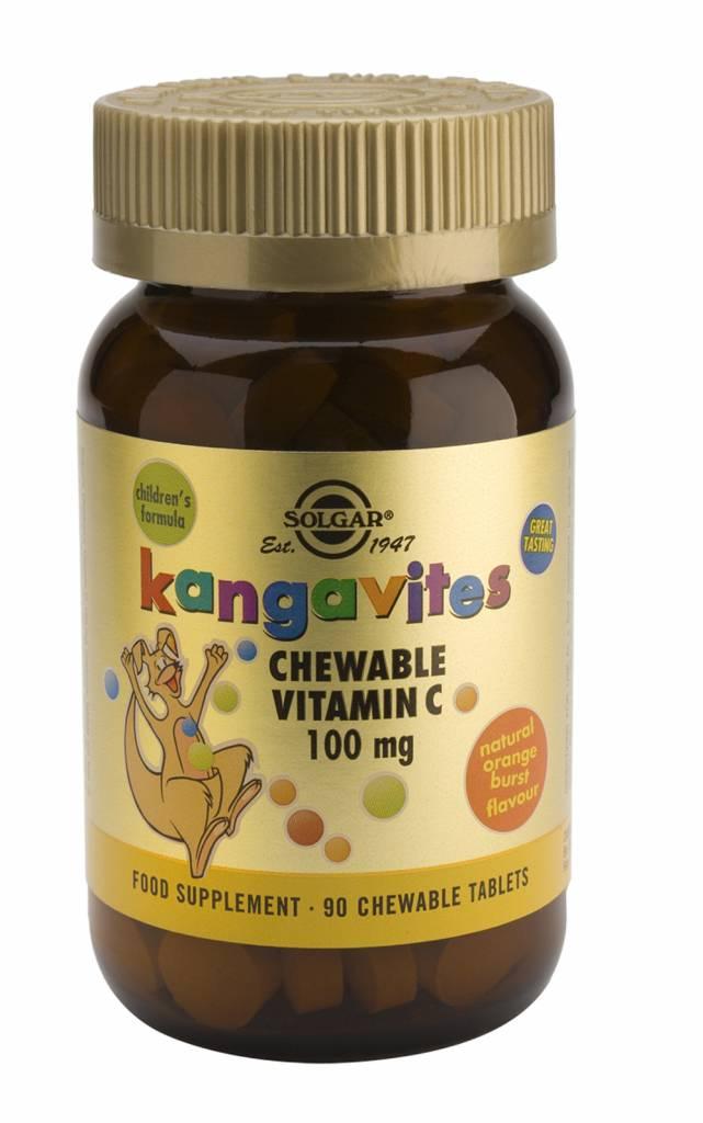 Kangavites Chewable Vitamin C 100 mg 90 kauwtabletten-1