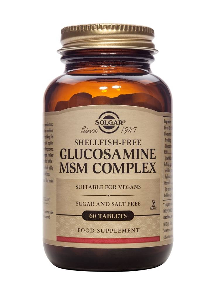 Glucosamine MSM Complex 60 tabletten-1