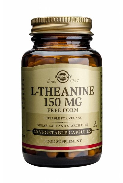 L-Theanine 150 mg 60 plantaardige capsules