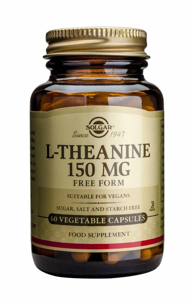 L-Theanine 150 mg 60 plantaardige capsules-1