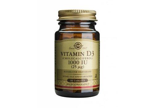 Solgar Vitamin D-3 1000 IU/25 µg tablet 90 tabletten