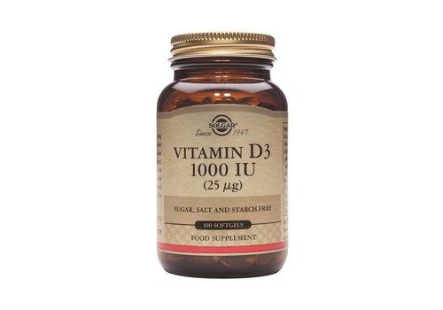 Solgar Vitamin D-3 1000 IU/25 µg 100 softgels