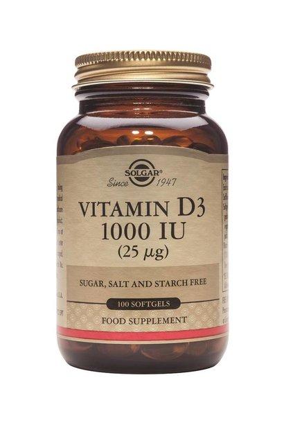 Vitamin D-3 1000 IU/25 µg 250 softgels