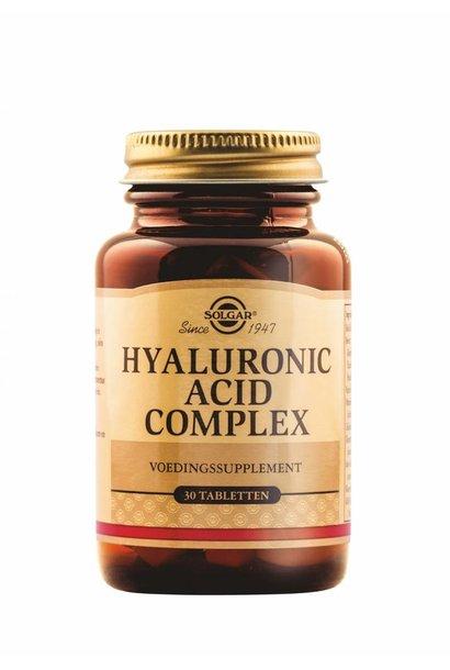 Collagen Hyaluronic Acid complex 30 tabletten