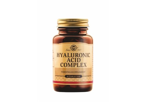 Solgar Collagen Hyaluronic Acid complex 30 tabletten