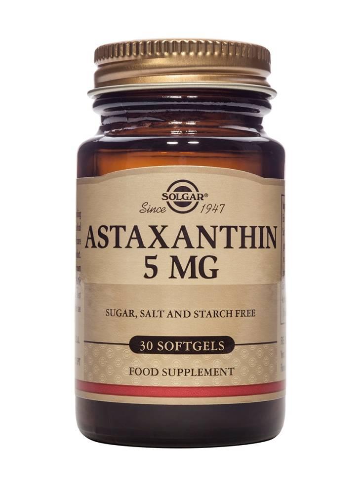 Astaxanthin 5 mg 30 softgels-1