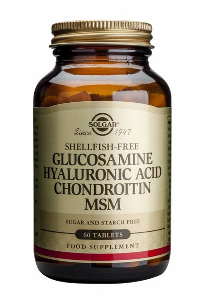 Glucosamine Hyaluronic Acid Chondroitin MSM 60 tabletten