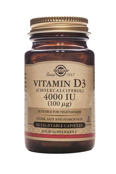 Vitamin D-3 4000 IU /100 µg 120 plantaardige capsules