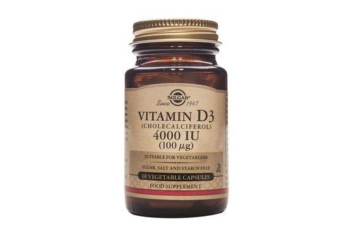 Solgar Vitamin D-3 4000 IU /100 µg 120 plantaardige capsules