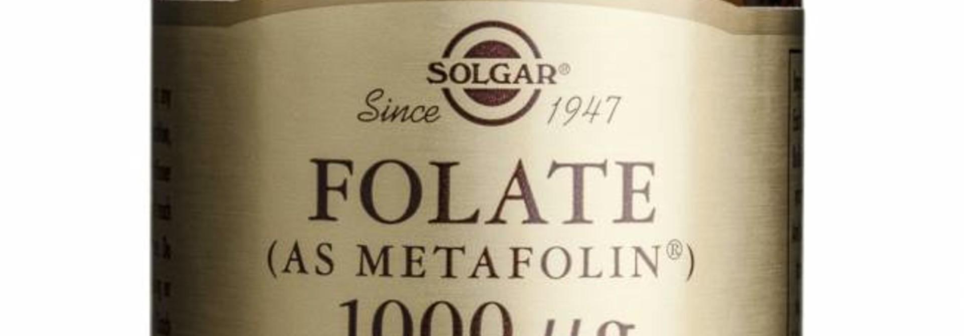Folate 1000 µg 60 tabletten