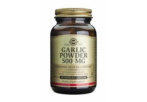 Solgar Garlic Powder 500 mg 90 plantaardige capsules