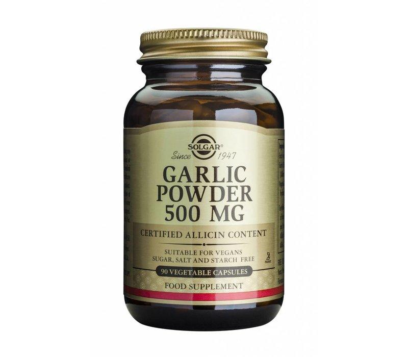 Garlic Powder 500 mg 90 plantaardige capsules