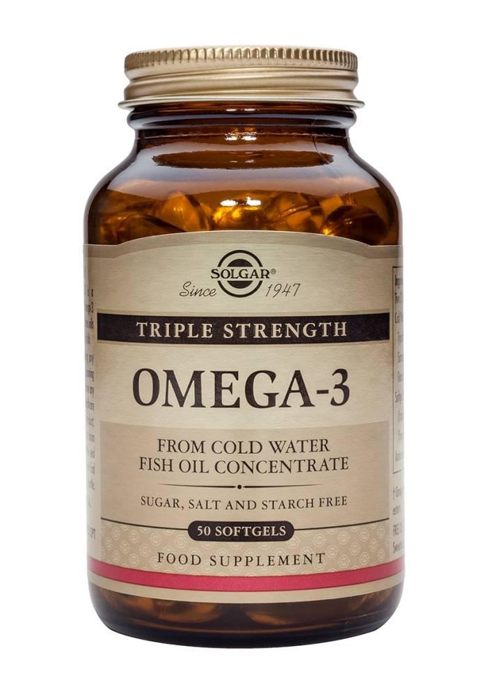 Omega-3 Triple Strength 100 softgels-1