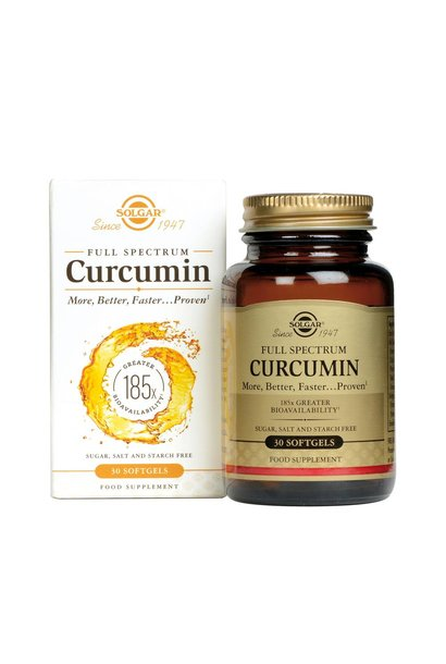 Full Spectrum Curcumin 30 softgels