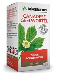 Canadese geelwortel 45 capsules-1