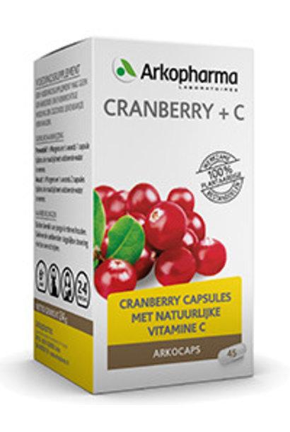 Cranberry & Vitamine C 45 capsules