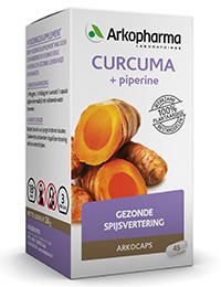 Curcuma + piperine 45 capsules-1
