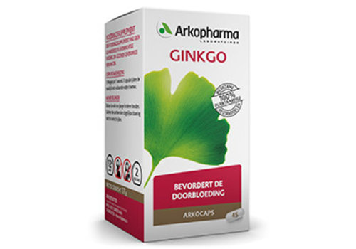 Arkocaps Ginkgo 45 capsules