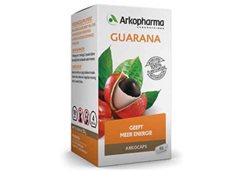 Arkocaps Guarana 45 capsules