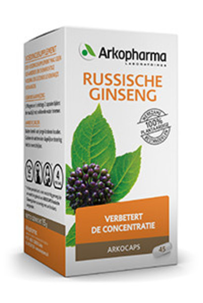 Russische ginseng 45 capsules