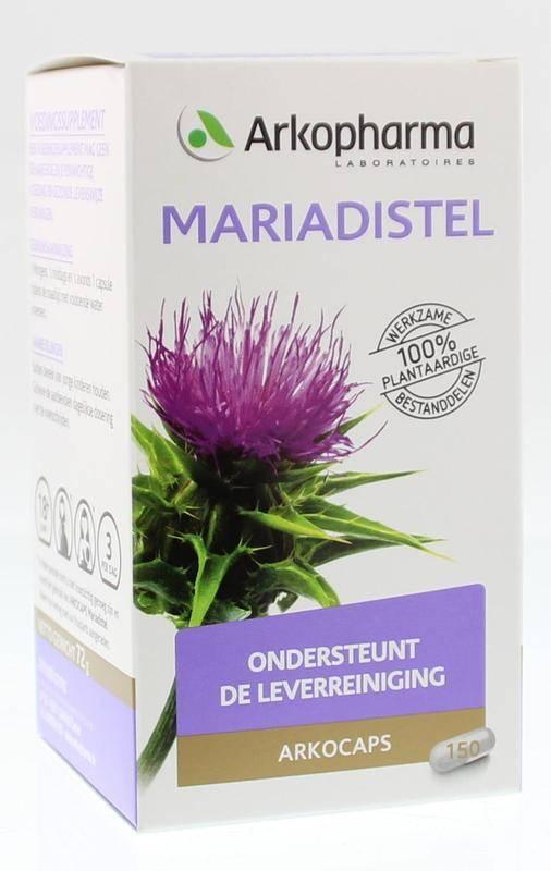 Mariadistel 150 capsules-1