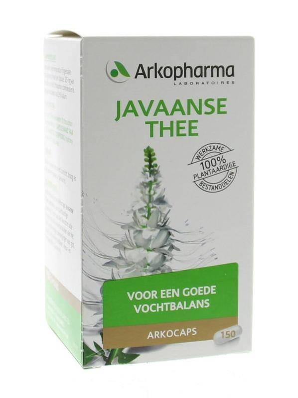 Javaanse thee 150 capsules-1